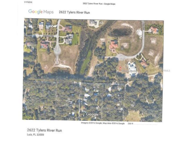 2622 Tylers River Run, Lutz, FL 33559 (MLS #U7810967) :: The Duncan Duo & Associates