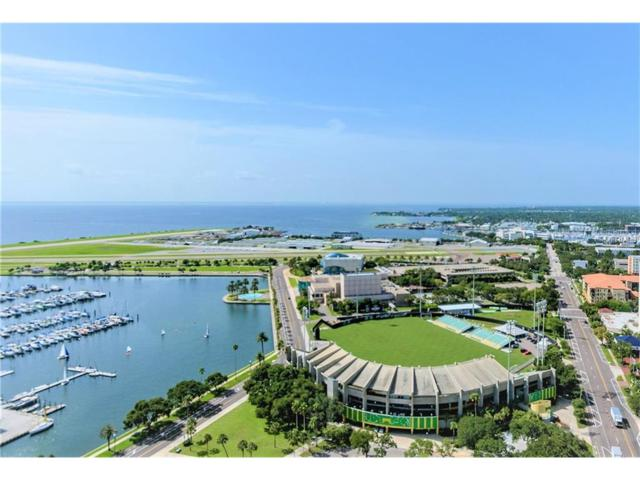 1 Beach Drive SE #1007, St Petersburg, FL 33701 (MLS #U7828694) :: Gate Arty & the Group - Keller Williams Realty