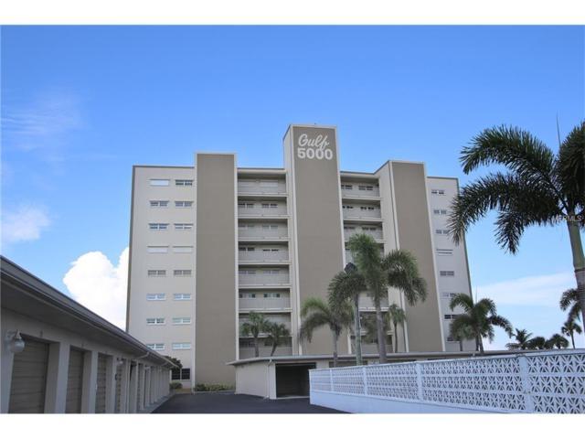 5000 Gulf Boulevard #102, St Pete Beach, FL 33706 (MLS #U7830109) :: Baird Realty Group
