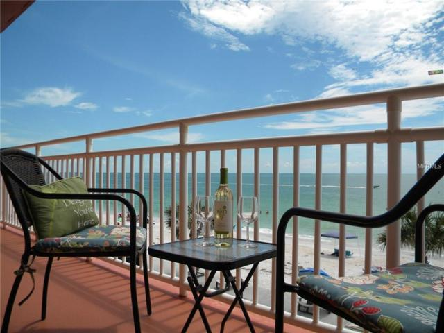 8470 W Gulf Boulevard #302, Treasure Island, FL 33706 (MLS #U7830125) :: Baird Realty Group