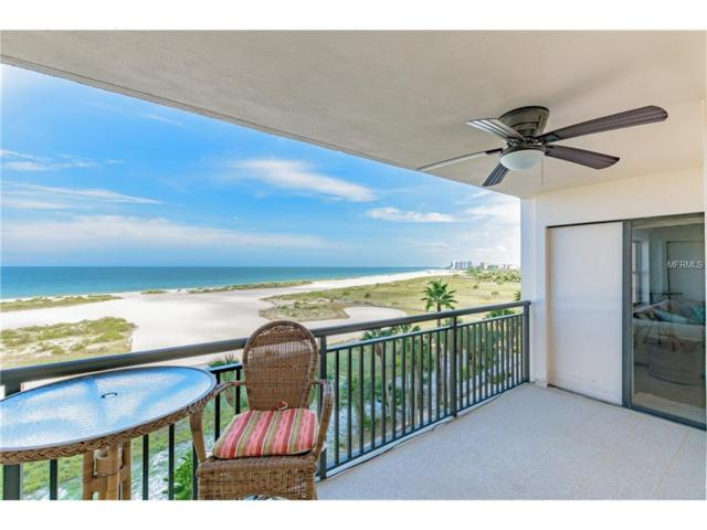 1270 Gulf Boulevard #602, Clearwater Beach, FL 33767 (MLS #U7832528) :: Delgado Home Team at Keller Williams