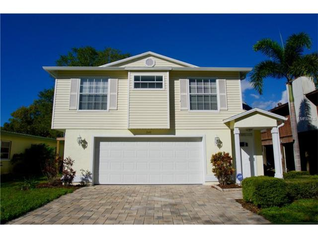 240 Avery Avenue, Crystal Beach, FL 34681 (MLS #U7839225) :: Delgado Home Team at Keller Williams