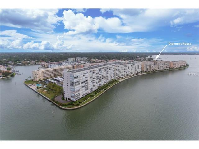 5980 Shore Boulevard S #605, Gulfport, FL 33707 (MLS #U7841075) :: Baird Realty Group