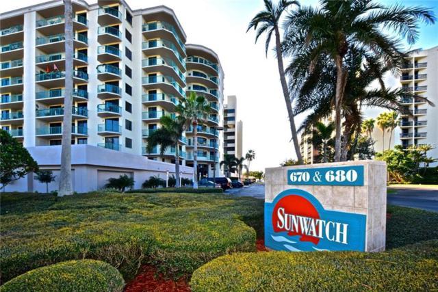 670 Island Way #203, Clearwater Beach, FL 33767 (MLS #U7844405) :: Burwell Real Estate