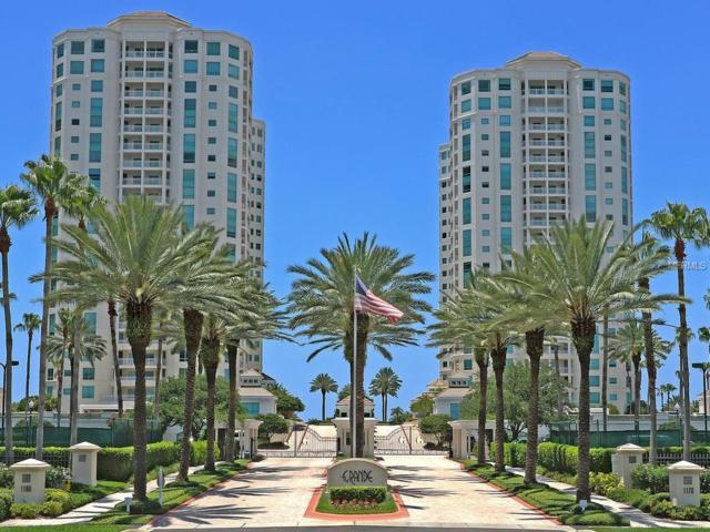 1180 Gulf Boulevard #1906, Clearwater Beach, FL 33767 (MLS #U7851755) :: Team Bohannon Keller Williams, Tampa Properties