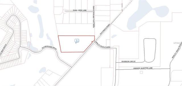 0 Quail Hollow Boulevard, Wesley Chapel, FL 33544 (MLS #U7852982) :: The Kardosh Team