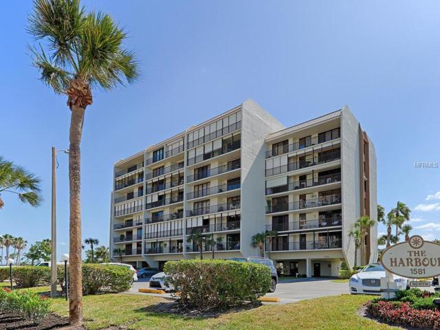 1581 Gulf Boulevard 503N, Clearwater Beach, FL 33767 (MLS #U7853327) :: The Duncan Duo Team