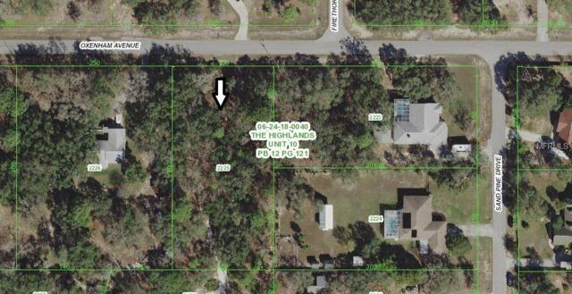 Oxenham Avenue, Spring Hill, FL 34610 (MLS #U8000841) :: Mark and Joni Coulter | Better Homes and Gardens