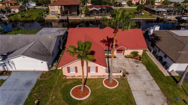 9901 Island Harbor Drive, Port Richey, FL 34668 (MLS #U8002285) :: The Duncan Duo Team