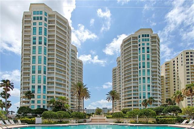 1170 Gulf Boulevard #2103, Clearwater Beach, FL 33767 (MLS #U8003545) :: The Duncan Duo Team