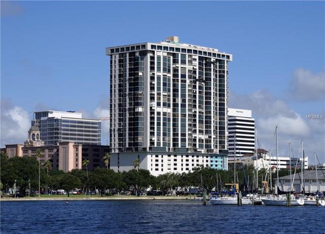 1 Beach Drive SE #1212, St Petersburg, FL 33701 (MLS #U8004100) :: The Lockhart Team