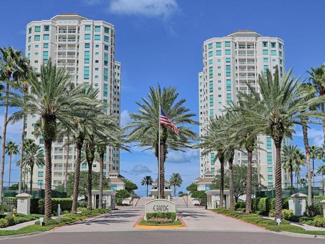 1170 Gulf Boulevard #805, Clearwater Beach, FL 33767 (MLS #U8004219) :: Team Bohannon Keller Williams, Tampa Properties