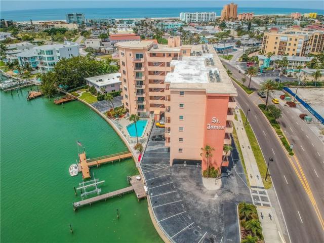 285 107TH Avenue #601, Treasure Island, FL 33706 (MLS #U8004383) :: Five Doors Real Estate - New Tampa