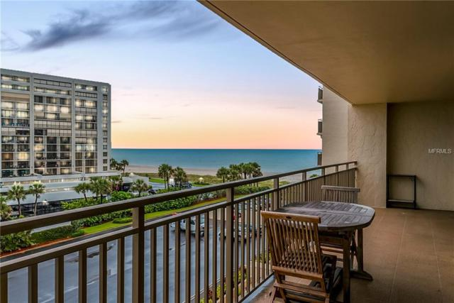 1430 Gulf Boulevard #405, Clearwater Beach, FL 33767 (MLS #U8005433) :: The Duncan Duo Team