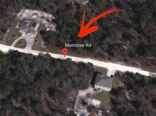 Manistee Rd, Weeki Wachee, FL 34614 (MLS #U8007296) :: The Price Group