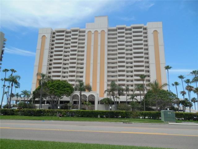 1270 Gulf Boulevard #708, Clearwater Beach, FL 33767 (MLS #U8007639) :: The Duncan Duo Team