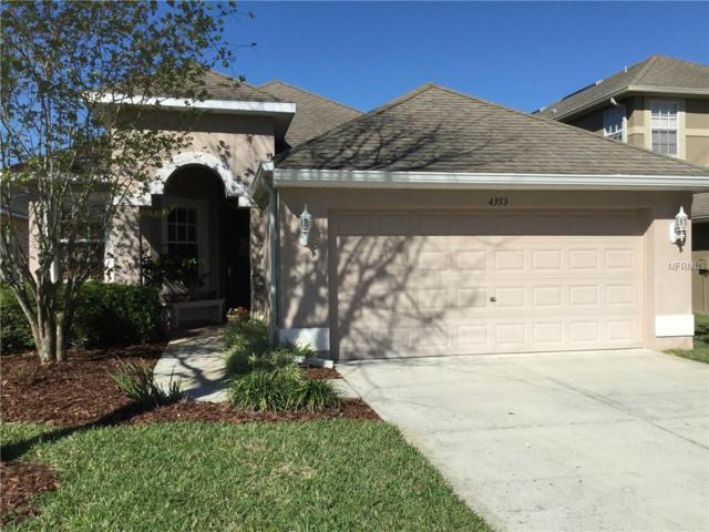 4353 Yans Court, Wesley Chapel, FL 33543 (MLS #U8008232) :: Team Bohannon Keller Williams, Tampa Properties