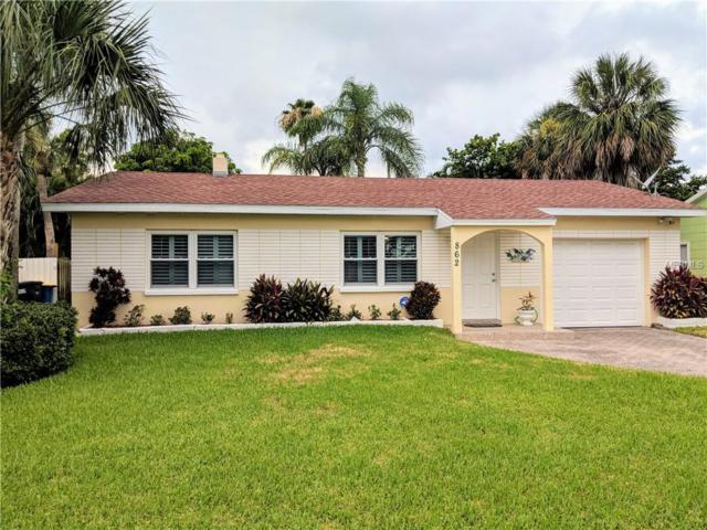 862 Lantana Avenue, Clearwater Beach, FL 33767 (MLS #U8008413) :: Chenault Group