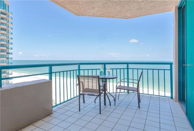 1520 Gulf Boulevard #1205, Clearwater Beach, FL 33767 (MLS #U8008857) :: Chenault Group