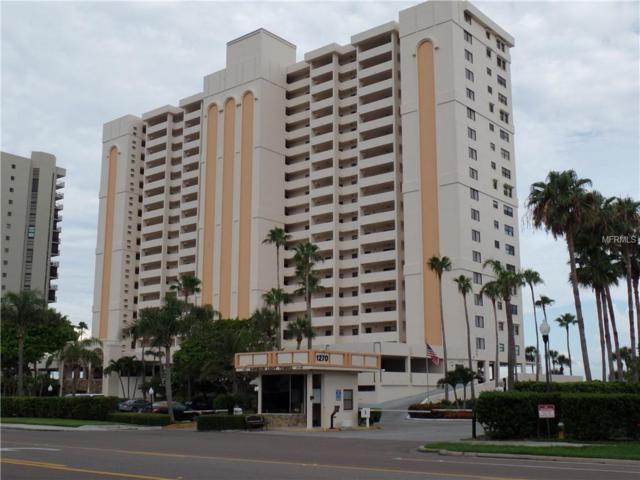 1270 Gulf Boulevard #408, Clearwater Beach, FL 33767 (MLS #U8010248) :: The Duncan Duo Team