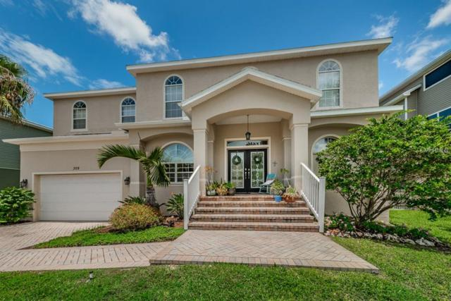 309 Manatee Lane, Tarpon Springs, FL 34689 (MLS #U8012299) :: The Light Team
