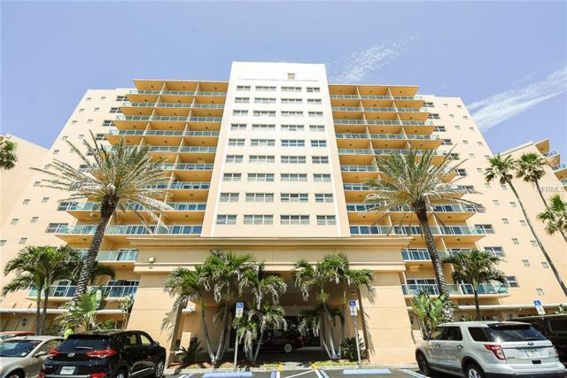 880 Mandalay Avenue C813, Clearwater Beach, FL 33767 (MLS #U8012867) :: Lovitch Realty Group, LLC