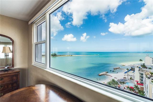 675 S Gulfview Boulevard #1203, Clearwater Beach, FL 33767 (MLS #U8015096) :: RealTeam Realty