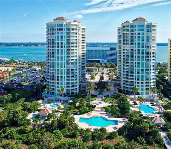 1170 Gulf Boulevard #1201, Clearwater Beach, FL 33767 (MLS #U8017161) :: Burwell Real Estate