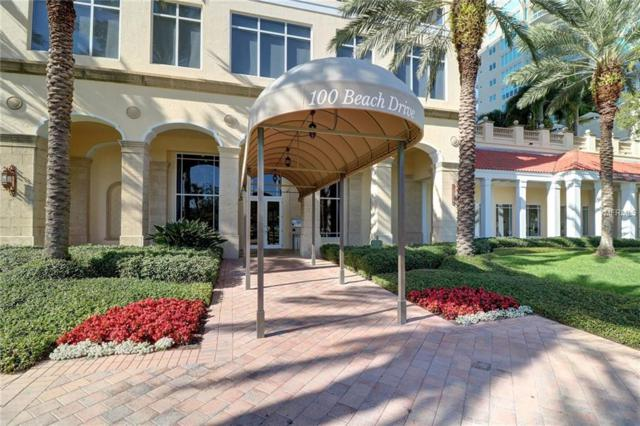 100 Beach Drive NE #901, St Petersburg, FL 33701 (MLS #U8018741) :: Jeff Borham & Associates at Keller Williams Realty