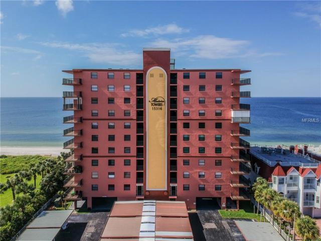 15316 Gulf Boulevard #302, Madeira Beach, FL 33708 (MLS #U8021046) :: The Lockhart Team