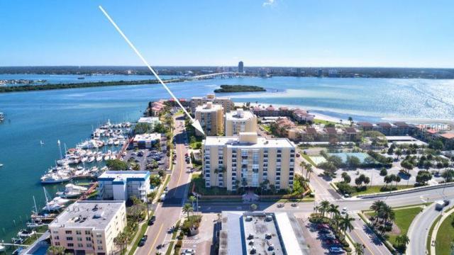 800 S Gulfview Boulevard #302, Clearwater Beach, FL 33767 (MLS #U8021243) :: RE/MAX CHAMPIONS