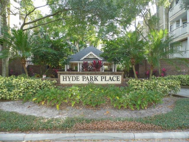 1000 W Horatio Street #311, Tampa, FL 33606 (MLS #U8021728) :: The Duncan Duo Team