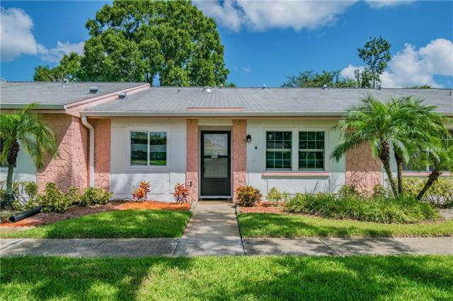 3420 Stonehaven Court E B, Palm Harbor, FL 34684 (MLS #U8022281) :: Delgado Home Team at Keller Williams