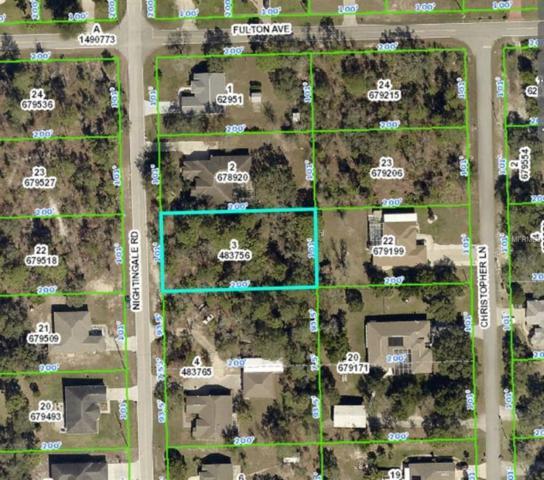 0 Nightingale Road, Weeki Wachee, FL 34613 (MLS #U8024304) :: GO Realty