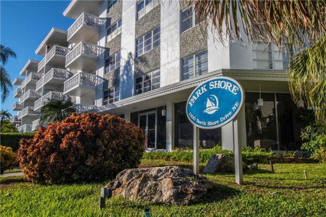 1100 N Shore Drive NE #103, St Petersburg, FL 33701 (MLS #U8024877) :: Andrew Cherry & Company