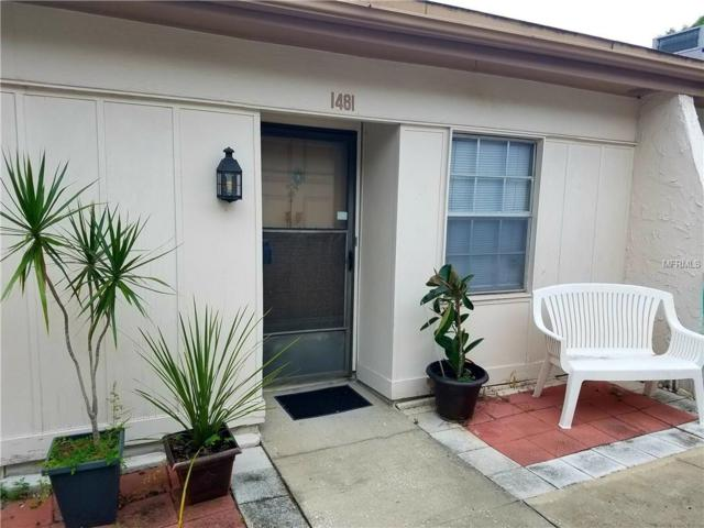 1481 Feather Drive 63A, Clearwater, FL 33759 (MLS #U8025834) :: Burwell Real Estate