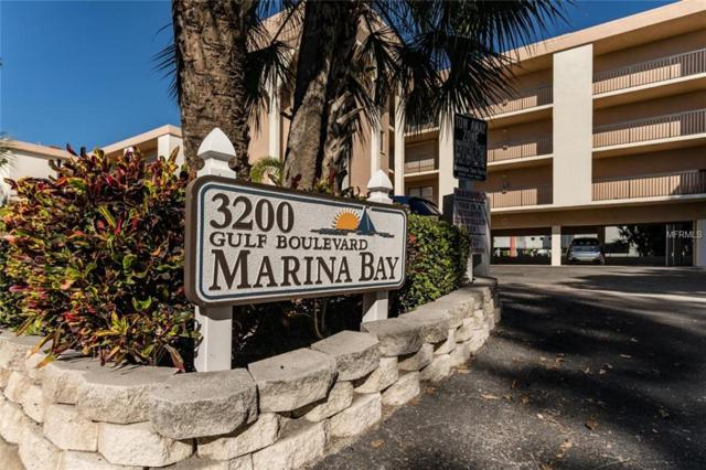 3200 Gulf Boulevard #206, St Pete Beach, FL 33706 (MLS #U8026869) :: Lockhart & Walseth Team, Realtors