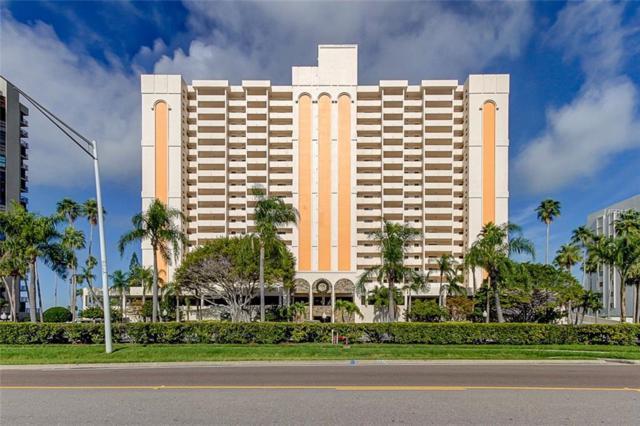 1270 Gulf Boulevard #606, Clearwater Beach, FL 33767 (MLS #U8027295) :: Medway Realty