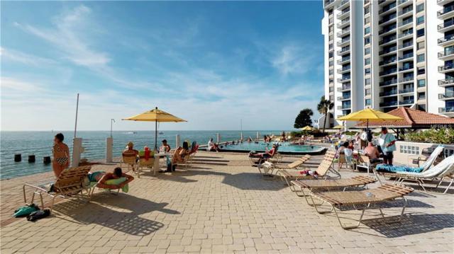 450 S Gulfview Boulevard #1708, Clearwater, FL 33767 (MLS #U8029230) :: RE/MAX Realtec Group