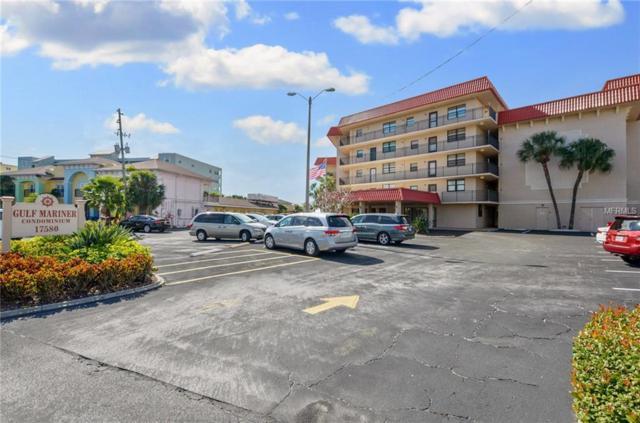 17580 Gulf Boulevard #109, Redington Shores, FL 33708 (MLS #U8030759) :: Dalton Wade Real Estate Group