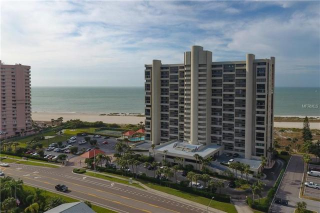 1290 Gulf Boulevard #805, Clearwater Beach, FL 33767 (MLS #U8032557) :: KELLER WILLIAMS CLASSIC VI