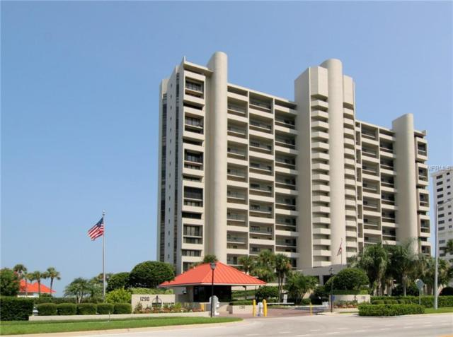 1290 Gulf Boulevard #1403, Clearwater Beach, FL 33767 (MLS #U8033124) :: KELLER WILLIAMS CLASSIC VI