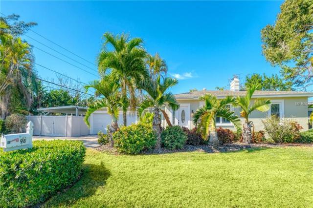 98 Harbor Drive, Belleair Beach, FL 33786 (MLS #U8033863) :: Charles Rutenberg Realty