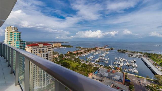 100 1ST Avenue N #2805, St Petersburg, FL 33701 (MLS #U8034298) :: Baird Realty Group