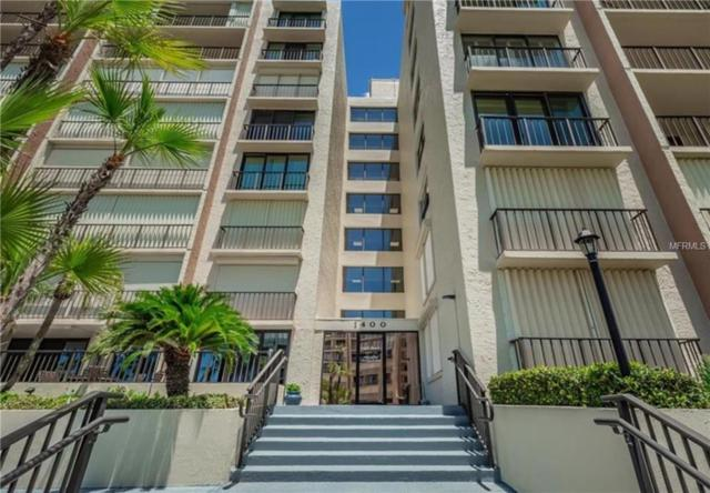 1400 Gulf Boulevard #602, Clearwater, FL 33767 (MLS #U8034317) :: Andrew Cherry & Company