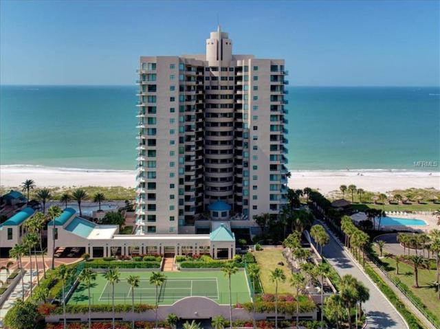 1520 Gulf Boulevard #801, Clearwater Beach, FL 33767 (MLS #U8036644) :: Burwell Real Estate