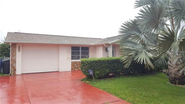 2406 Society Drive, Holiday, FL 34691 (MLS #U8038774) :: Jeff Borham & Associates at Keller Williams Realty