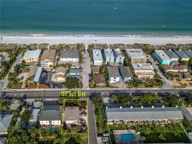 1811 Gulf Boulevard, Indian Rocks Beach, FL 33785 (MLS #U8042459) :: Lockhart & Walseth Team, Realtors