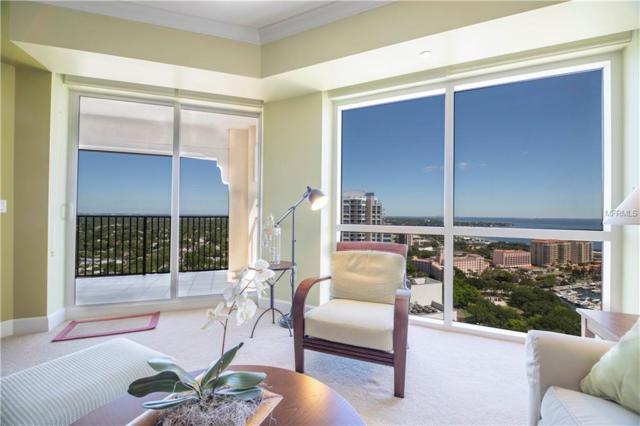 300 Beach Drive NE #2701, St Petersburg, FL 33701 (MLS #U8042489) :: Lockhart & Walseth Team, Realtors