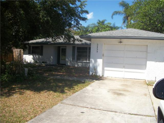 2499 Indigo Drive, Clearwater, FL 33763 (MLS #U8043935) :: Team Bohannon Keller Williams, Tampa Properties